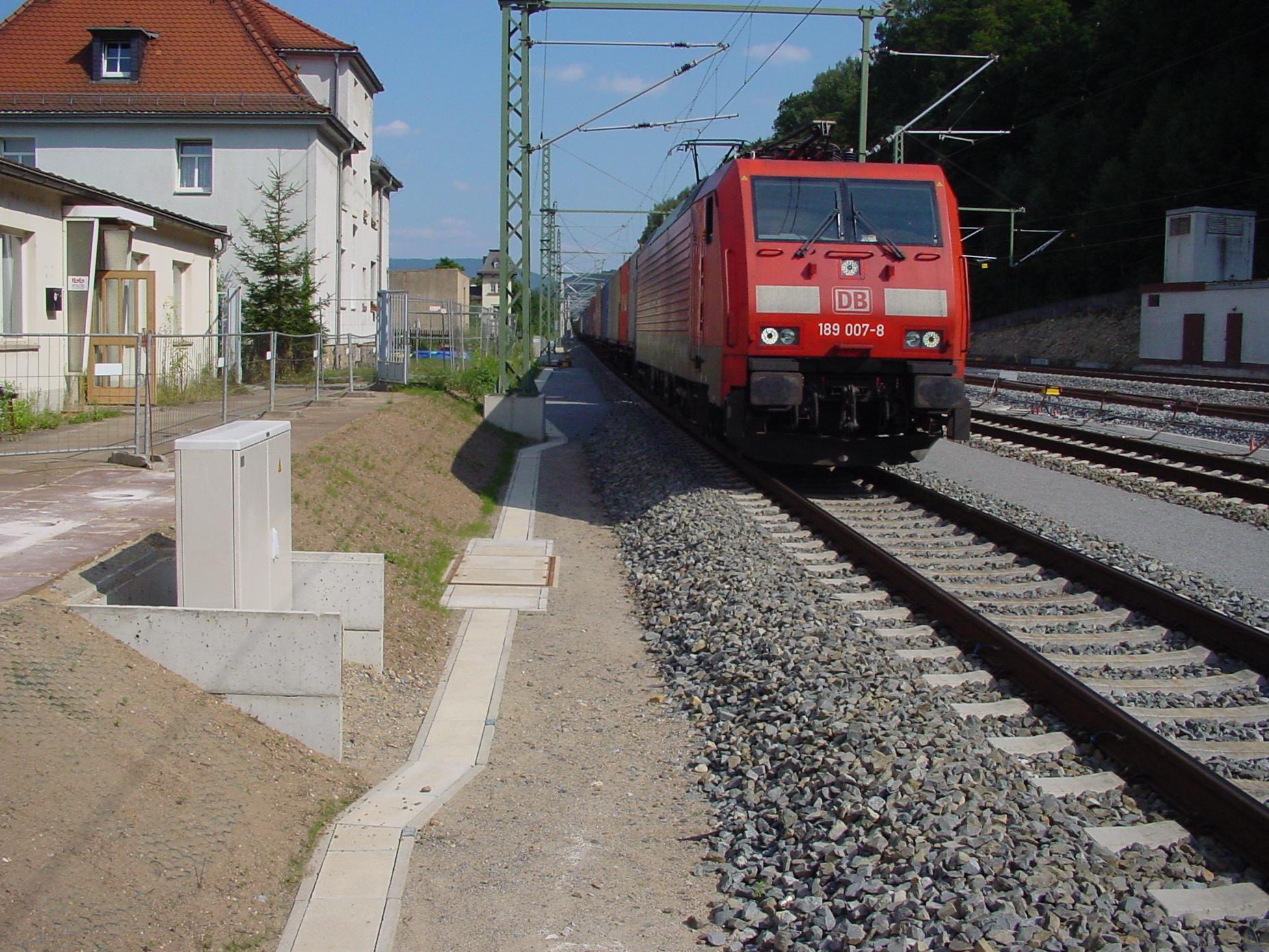 RAILBETON | Kabelkanäle für die Deutsche Bahn